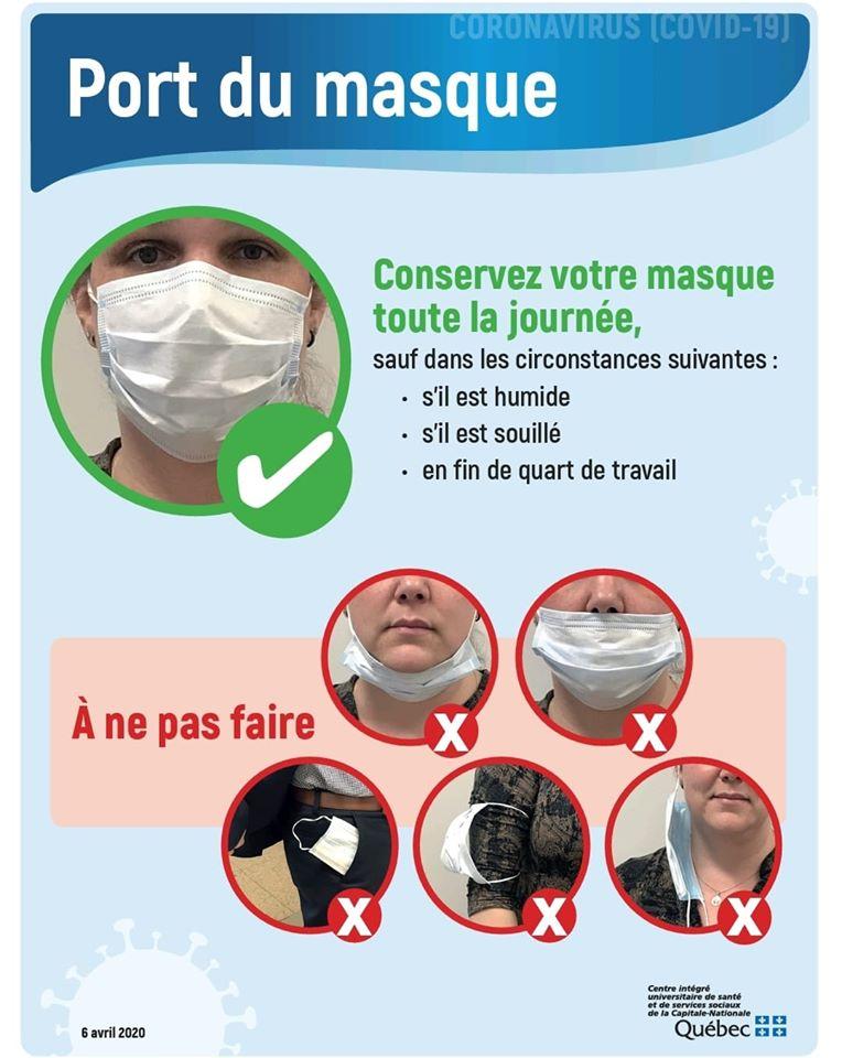 affiche masque